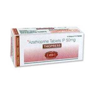 Thiopress Azathioprine 50mg Tablets
