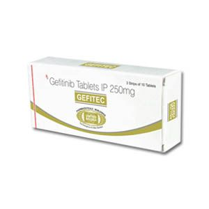 Gefitec Gefitinib 250mg Tablets