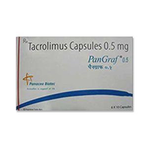 Pangraf : Таколимус 0.5 мг капсулы