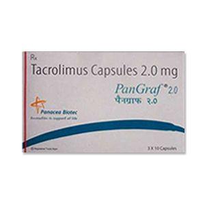 Pangraf Tacrolimus 2mg Capsules
