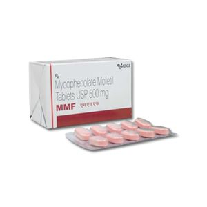 MMF Mycophenolate Mofetil 500mg Tablet