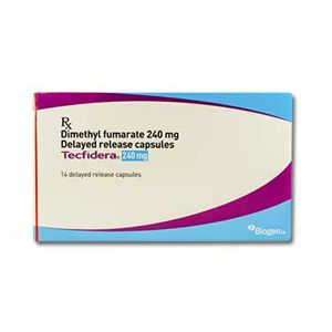 Tecfidera Dimethyl Fumarate 240mg Capsule