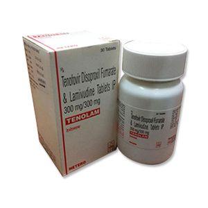 Tenolam Tenofovir & Lamivudine Tablet