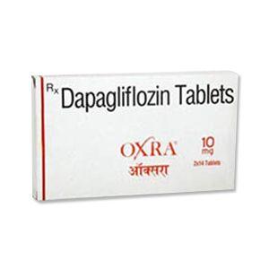 Oxra Dapagliflozin 10mg Tablet