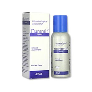 Nummit Lidocaine Aerosol 15% Spray