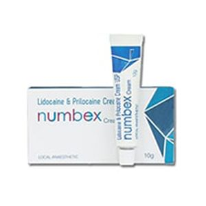 Numbex Lidocaine & Prilocaine Cream