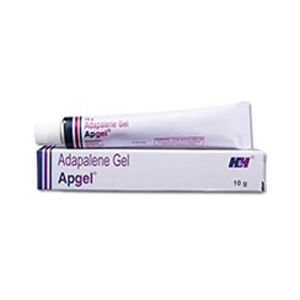 Apgel Adapalene 0.1% Gel
