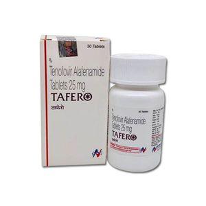 Tafero Tenofovir Alafenamide 25mg Tablet