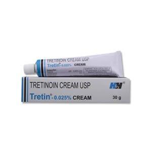 Tretin Tretinoin 0.025% Cream
