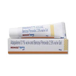 Minoz BPO Adapalene & Benzoyl Peroxide Cream