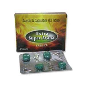 Extra Super Avana Avanafil & Dapoxetine Tablet