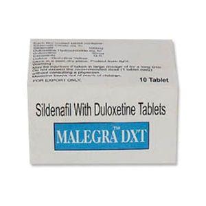 Malegra-DXT Sildenafil & Duloxetine Tablet
