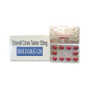 Malegra Sildenafil 120mg Tablet