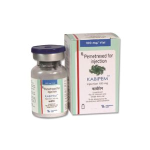Kabipem Pemetrexed 100mg Injection