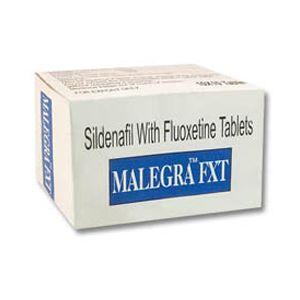 Malegra-FXT Sildenafil & Fluoxetine Tablet