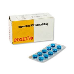 Poxet Dapoxetine 90mg Tablet