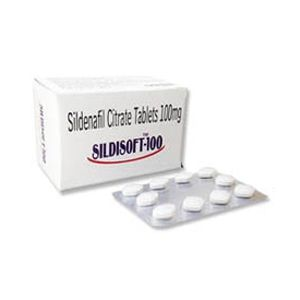 Sildisoft Sildenafil 100mg Tablet