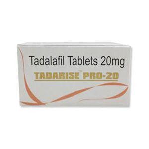 Tadarise Pro Tadalafil 20mg Tablet