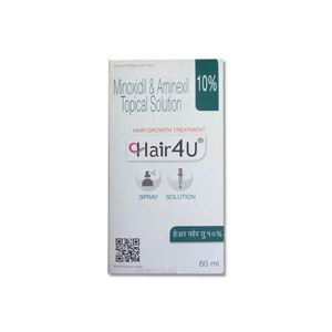 Hair4U 10% Minoxidil & Aminexil Solution