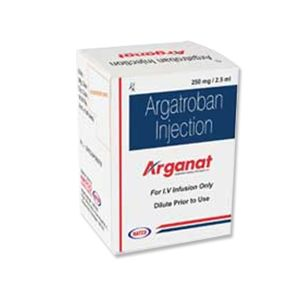 Arganat Argatroban 250mg Injection