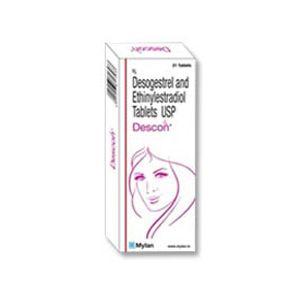 Descon Ethinyl Estradiol & Desogestrel Tablet