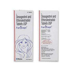 Famycept Ethinyl Estradiol & Desogestrel Tablet