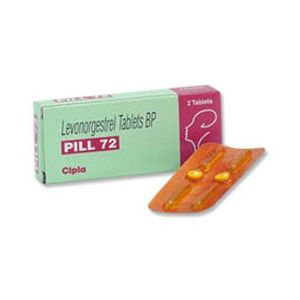 Pill-72 Levonorgestrel 1.5mg Tablet