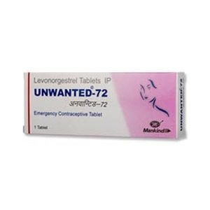 Unwanted-72 Levonorgestrel 1.5mg Tablet