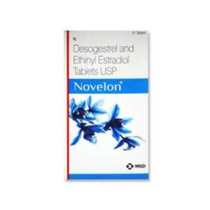 Novelon Ethinyl Estradiol & Desogestrel Tablet