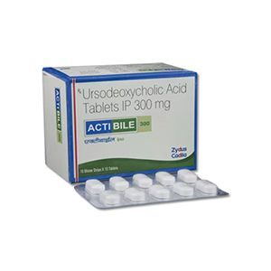 Actibile Ursodeoxycholic 300mg Tablet