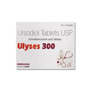 Ulyses Ursodeoxycholic 300mg Tablet