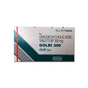 Golbi Ursodeoxycholic 300mg Tablet