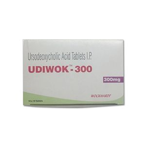 Udiwok Ursodeoxycholic 300mg Tablet