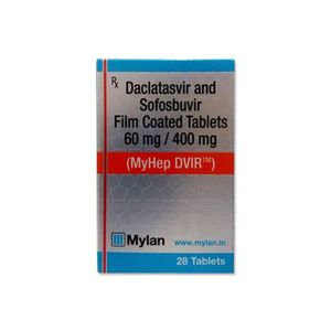 Myhep DVIR : Sofosbuvir and Daclatasvir Tablet 28'S