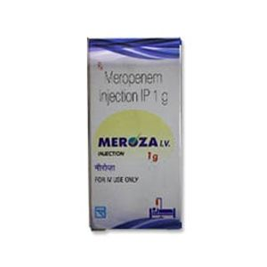 Meroza I.V Meropenem 1gm Injection