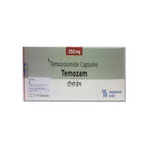 Temozam Temozolomide 250mg Capsule