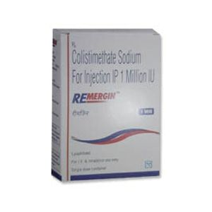 Remergin Colistimethate 1 MIU Injection