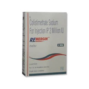 Remergin Colistimethate 2 MIU Injection
