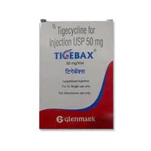 Tigebax Tigecycline 50mg Injection