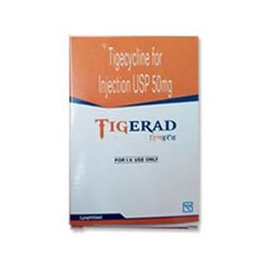 Tigerad Tigecycline 50mg Injection