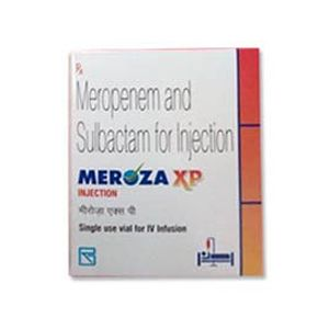 Meroza XP Meropenem & Sulbactam Injection