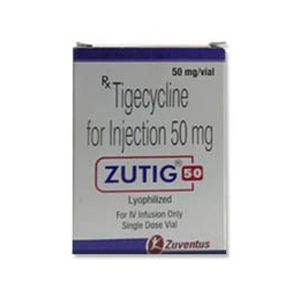 Zutig Tigecycline 50mg Injection