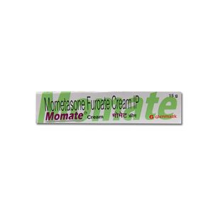 Momate Mometasone Furoate 0.1% Cream