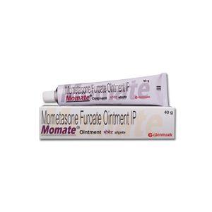 Momate Mometasone Furoate 0.1% Ointment
