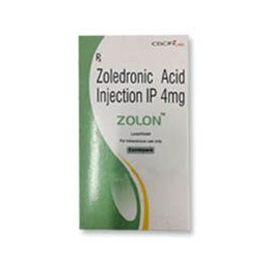 Zolon Zoledronic 4mg Injection