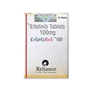 Erlotirel Erlotinib 100mg Tablet