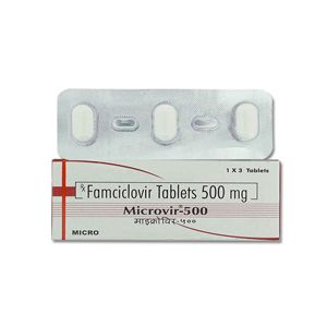 Microvir Famciclovir 500mg Tablet