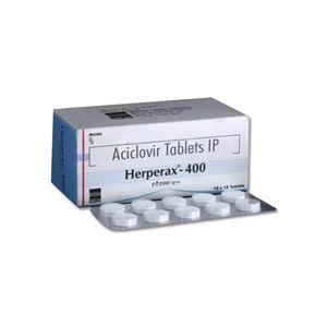 Herperax Aciclovir 400mg Tablet