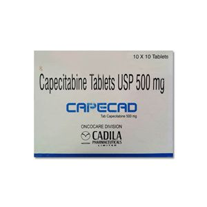 Capecad Capecitabine 500mg Tablet