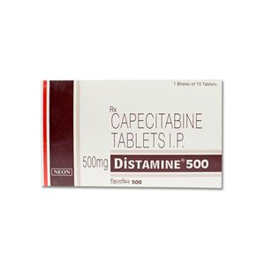 Distamine Capecitabine 500mg Tablet